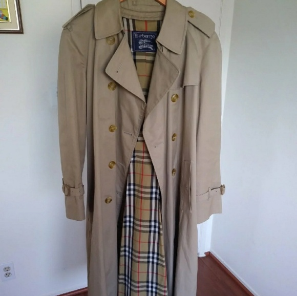 Burberry Jackets & Blazers - Burberry Prorsum tan trench coat size 10 long